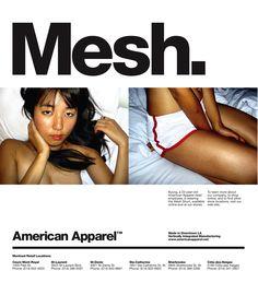 american apparel ad - Google 搜尋