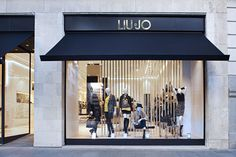 LIU•JO store by Christopher Goldman Ward, Madrid   Spain luxury fashion