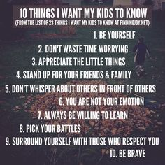 These are the things that matter. #parenting