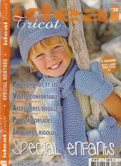 ideal tricot - ok Knitting Books, Knitting For Kids, Crochet For Kids, Lace Knitting, Crochet Baby, Knit Crochet, Knitting Patterns, Knitting Magazine, Crochet Magazine