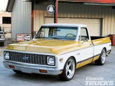 "1972 Chevy Cheyenne Super - ZZ4 crate motor, 700-R4 tranny, lowered 3.5/5"""