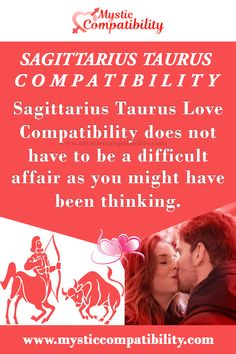 Sagittarius Taurus Love Compatibility does not have to be a difficult affair as you might have been thinking. #Sagittarius #Taurus #Love_Compatibility #Zodiac_Signs