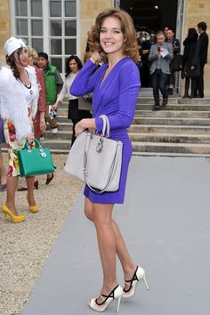 Natalia Vodianova Photos - Celebs At The Dior Fall/Winter Fashion Show - Zimbio