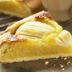 Apple pie with almonds Great Desserts, No Bake Desserts, Delicious Desserts, Quiches, Food Cakes, Cupcake Cakes, Baking Recipes, Cake Recipes, Good Food