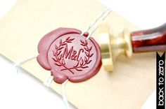 M&C Wax Seal Stamp x 1 by BacktoZero