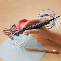 UpDraw 3D Sculpting Pen at Brookstone—Buy Now!