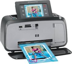 HPPhotosmartA646CompactPhotoPrinter(CC001A#B1H). Easily personalize with extra large touchscreen and stylus. HP's latest Photosmart A646 compact photo printer allows direct printing from you camera enabled cellphone via built-in Bluetooth. Color: Black. Paper sizes up to 13 x 18 cm (5 x 7 inches) 20 sheets of photo paper, maximum thickness 292 µm .11.5 mil. per sheet, or 10 sheets of 10 x 30 cm (4 x 12 inches) photo paper for panoramic printing Memory Cards Accepted:...