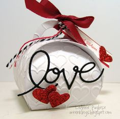 wee inklings - SU - Valentine Treat - Curvy Keepsake Box