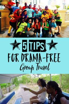 5 Tips for Drama-Free Group Travel