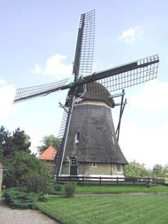 #Windmill - Polder mill De Hersteller, Sint Johannesga - The #Netherlands http://dennisharper.lnf.com/