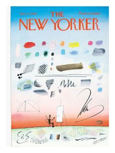 The New Yorker Cover - January 11, 1969 Poster Print  by Saul Steinberg at the Condé Nast Collection