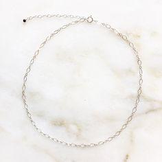 Coral choker | Handmade | Sterling silver