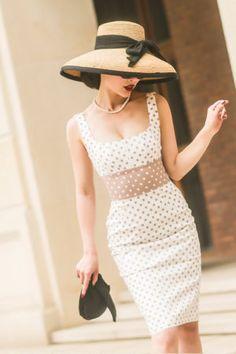 best service 3e07d 09458 Elegantes Vintage 60s Kleid
