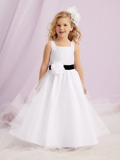 361147fda6 Sweet Beginnings Style  L125 - shown in White with a Black waistband