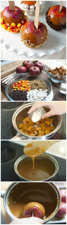 The easy how-to trick behind making the best caramel apples!