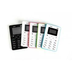 """Telephone carte AEKU M5 1.0"""" 480*320 Quad Band Kids Card Phone,faible radiation,modèle de 2014 en promo. 3 Claviers au choix:Anglais(QWERTY)Arabe ouCyrillique 5 Couleurs au choix:Blanc,Noir,Rose,Bleu,Vert"""
