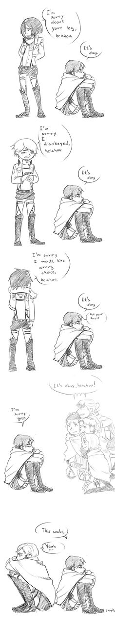 Poor Levi...