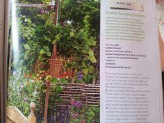 Edible hanging baskets