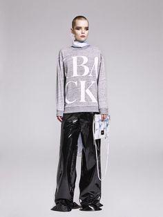 BACK - Scrabble logo sweatshirt
