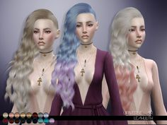 Sims 4 CC's - The Best: Hair by Leah Lillith