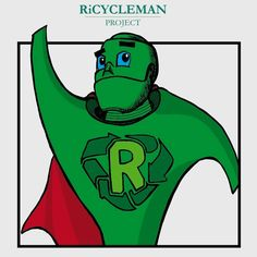 Ricycleman green