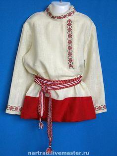 Одежда ручной работы. Ярмарка Мастеров - ручная работа косоворотка детская. Handmade.