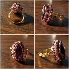 A new ring design by The Alluring Bead Boutique