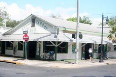The Green Parrot is the oldest watering hole in Key West and also shows up in the story.