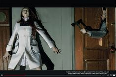 ~ Reaping A Brave New Life ~ Vogue Italia. April 2014. Horror Movie