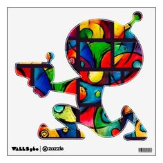 Groovy Art Abstract Collection Room Graphics