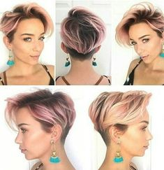 34 Latest Long Pixie Cuts You'll Love for Summer 2019 Long Pixie Pixie haircut came into vogue back in when Audrey Hepburn appeared on the screens in the movie Roman Holiday. Pixie Hairstyles, Short Hairstyles For Women, Cool Hairstyles, Medium Hairstyles, Hairstyles Haircuts, Hairstyle Ideas, Hair Ideas, Undercut Hairstyles Women, Choppy Haircuts