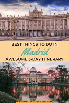 Looking for the best 3 days in Madrid itinerary? After living in Madrid for 4 months these are the BEST things to do in Madrid in a few days! Europe Destinations, Europe Travel Tips, European Travel, Travel Guides, Europe Places, Traveling Europe, Travel Advice, Spain And Portugal, Portugal Travel