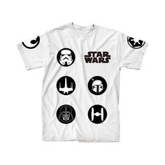 Star Wars Kid's Shirt - Darth Vader, Storm Trooper #rebel #jedi #darkside #tees #backtoschool
