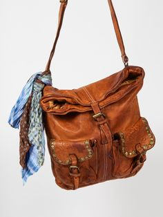Langellotti Tuscan Distressed Messenger at Free People Clothing Boutique  Purses And Handbags 11d1c927fe378