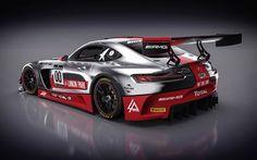 壁紙をダウンロードする メルセデス-ベンツ, レーシングカー, amg gt3