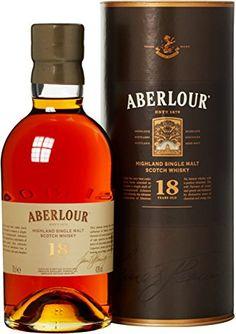 Aberlour 18 Jahre Single Malt Scotch Whisky x l) Booze Drink, Bar Drinks, Alcoholic Drinks, Cocktails, Alcohol Mixers, Alcohol Bottles, Good Whiskey, Bourbon Whiskey, Whiskey Label