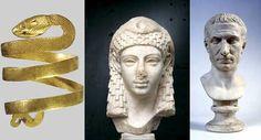 Al Chiostro del Bramante, in mostra il fascino immortale di Cleopatra - Il Messaggero
