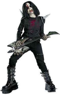Zombie Metal Mayhem Halloween Costume | Jokers Masquerade