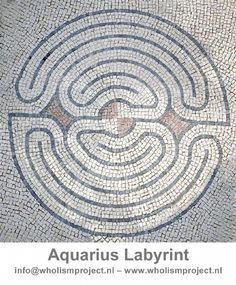 Wholism Project, aquarius labyrinth. This will help you earth