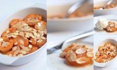 Meruňky zapečené s mandlemi, medem a zázvorem