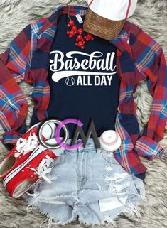 Baseball All Day T-shirt Baseball Mom Shirt Ladies Baseball T-shirt Baseball All Day Shirt women's baseball t-shirt Baseball Mom Shirt Baseball T-shirts Baseball Girlfriend Shirts, Baseball Jersey Outfit, Womens Baseball T Shirts, Sports Mom Shirts, Baseball Shoes, Baseball Outfits, Rays Baseball, Baseball Tips, Baseball Stuff