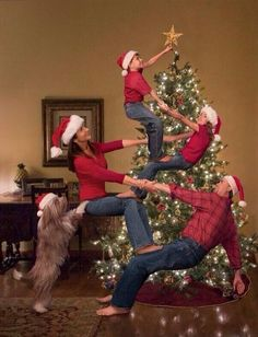 In the future I wonder if my family nd I can do this lol #teamwork