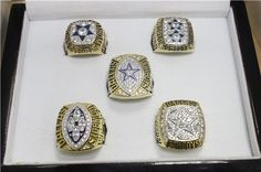 Dallas Cowboys Images, Dallas Cowboys Wallpaper, Cowboys Stadium, Cowboys Football, Nfl Championship Rings, Gold Jewelry, Jewelery, Cowboy Images, Super Bowl Rings