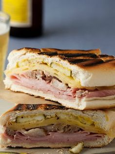 Recipes from The Nest - Grilled Cuban Sandwich