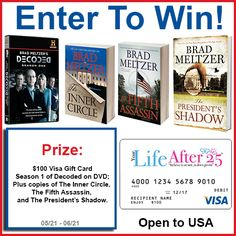 Enter the SCOUR THE CLUES w/ @BradMeltzer Prize Pack #Giveaway! #ad #PresidentsShadow via @YourLifeAfter25