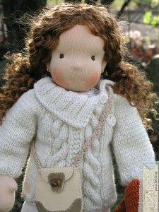 Lalka szmaciana Lalinda. SHE LOOKS LIKE ME!!!