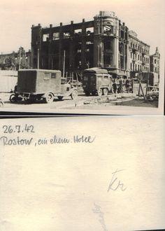 Здание бывшего доходного дома Пустовойтова на перекрестке Большой Садовой улицы и Буденновского проспекта.