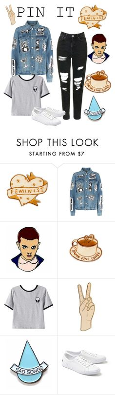 """The I."" by just-lea ❤ liked on Polyvore featuring Frame, Chicnova Fashion, Lucky Brand, Stay Home Club and Lacoste"