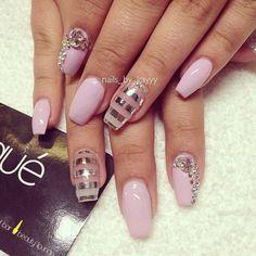 Nails by: Laque' Nail Bar | Nail Tech: Kay  #nail #nails #nailart #unha #unhas #unhasdecoradas