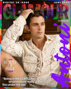 GLAMOUR June Digital Pride Issue Coverstar Antoni Porowski Interview | Glamour UK Josh Smith, Glamour Uk, Best Pal, Real Housewives, How I Feel, Transgender, Role Models, Good Books, I Am Awesome